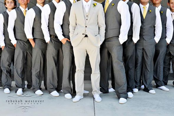 Groom S Suit Of Wedding Formal Selection